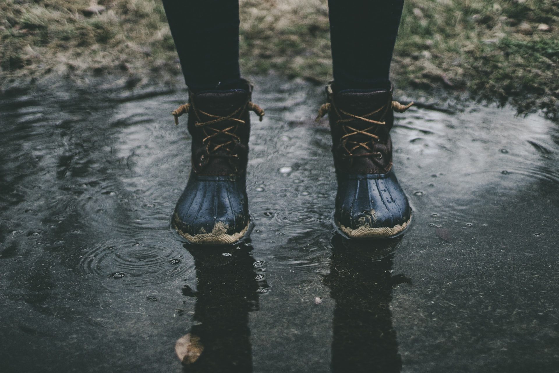 zapatos aprueba de agua