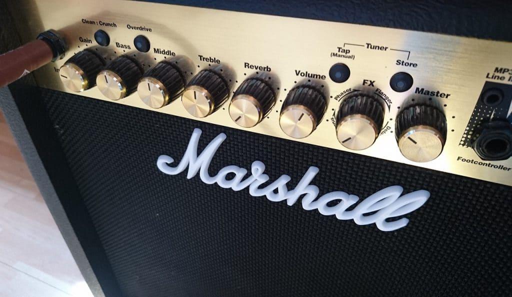 Imagem de um amplificador.