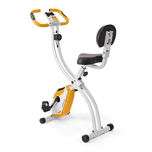 Ultrasport Unisex F-Bike Advanced Exercise Bike, Display LCD, Home Trainer Pieghevole, Bici da fitness, (Il design può variare)