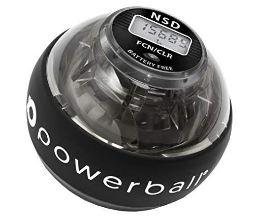 Serie di Powerball 280Hz Autostart - Palla per Esercizi Giroscopio - Migliora la Presa, Rafforza i Muscoli dell'Avambraccio - Riabilita da Dolore e Fratture ai Polsi (Pro Hybrid)