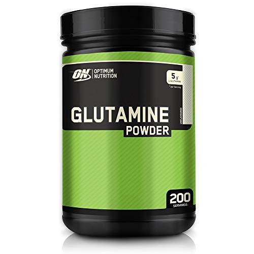 Optimum Nutrition ON Glutamine, Amminoacidi, l Glutammina in Polvere, Non Aromatizzato, 200 Porzioni, 1 kg