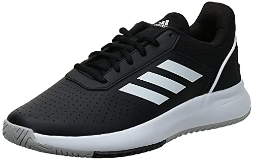 adidas COURTSMASH, Scarpe da Tennis Uomo, Core Black/Ftwr White/Grey Two f17, 42 EU