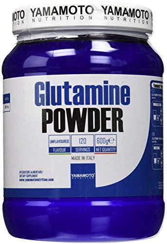 Yamamoto Nutrition Glutamine POWDER Kyowa© Quality integratore alimentare di Glutammina gusto Neutro 600 g