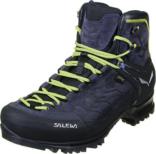 Salewa MS Rapace Gore-TEX Scarponi da trekking e da escursionismo, Night Black/Kamille, 41 EU