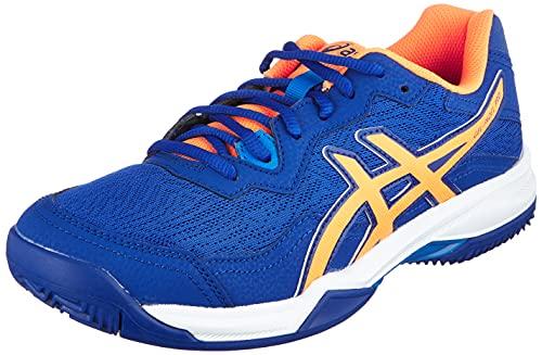 ASICS Gel-Padel PRO 4, Scarpe da Tennis Uomo, Monaco Blue/Orange Pop, 42 EU