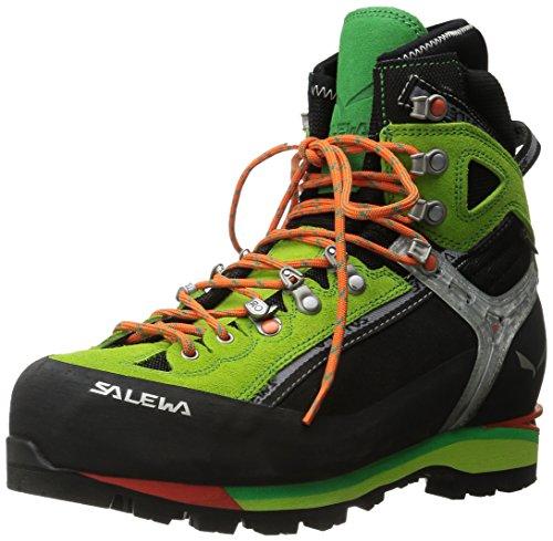 Salewa MS Condor Evo Gore-TEX Scarponi da trekking e da escursionismo, Black/Cactus, 40.5 EU