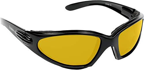 Verdster Occhiali da Sole Sportivi da Uomo & Donna – Protezione UV - Design Confortevole Avvolgente con Cuscinetti di Schiuma – Ideali per Andare in Moto, Ciclismo & per Sport all'Aria Aperta