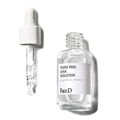 Face D Faced - Pure Peel, Soluzione Ad Attivi Puri Con Acido Glicolico, 30 ml