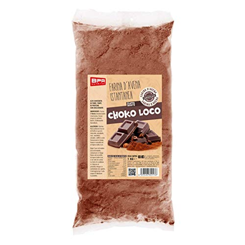 Bpr Nutrition Farina D'Avena Istantanea Gusto Choko Loco - 1 Kg