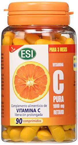 ESI Vitamina C Pura 1000 mg Retard - 90 Compresse, 126 gr