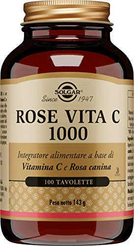 Solgar Rose Vita C 1000 mg, 100 Unità