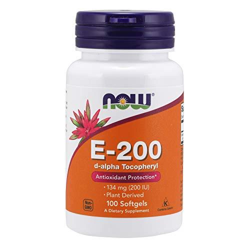 NOW, E-200 D-Alpha Tocoferile 100 Softgels - 100 g