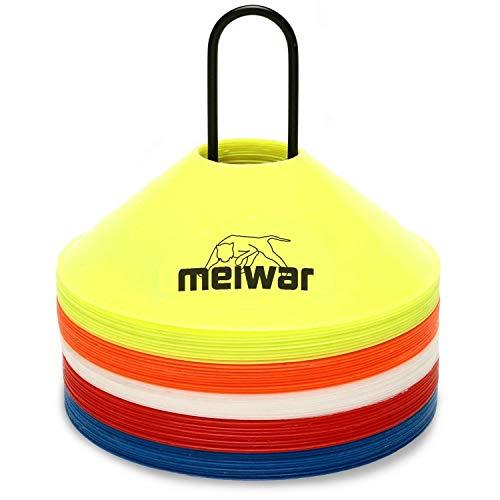 meiwar 20x Coni delimitazione con Cinghia Multicolore