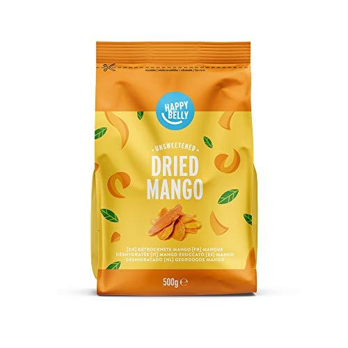 Marchio Amazon - Happy Belly Mango essiccato, 500 g