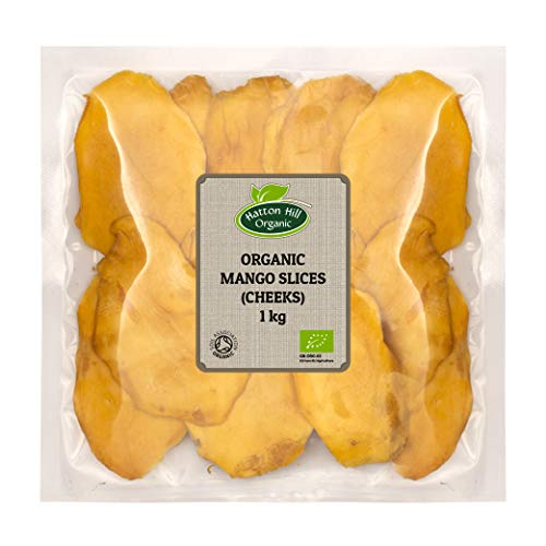Hatton Hill Organic - Fetta di mango secca biologica, 1 kg
