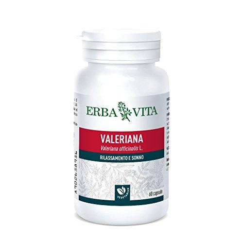 Erba Vita Integratore Alimentare di Valeriana - 60 Capsule