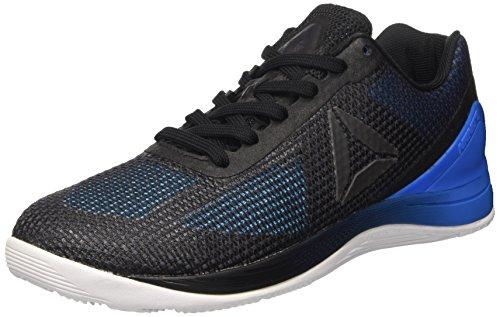 Reebok Crossfit Nano 7.0, Scarpe Sportive Indoor Uomo, Nero (Blue Beam/Horizon Blue/Black/White/Lead), 44 EU