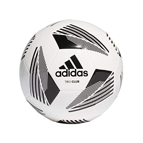 Adidas FS0367 TIRO CLB Pallone da calcio Uomo white/black 5