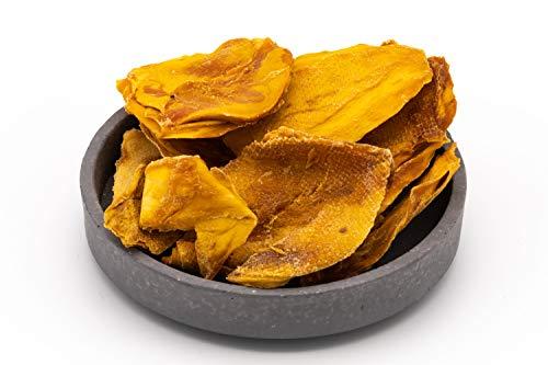 Metà di mango biologico essiccato - naturale e non trattato - Crudo - naturalmente molto dolci - 1kg