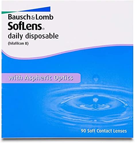 BAUSCH + LOMB - SofLens® Daily disposable - Lenti a contatto giornaliere - 90 Lenti