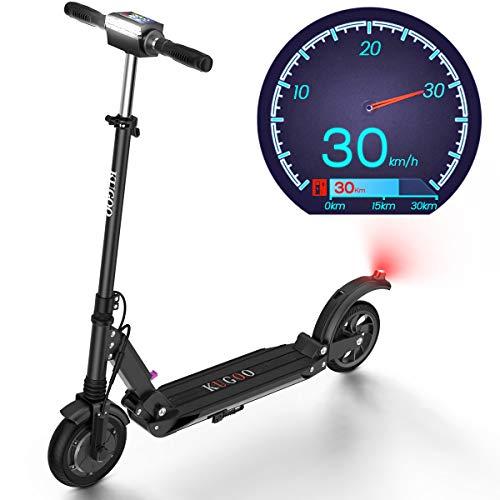 Monopattino Elettrico, 30 Km di Autonomia, velocità Fino a 30 Km, Scooter Elettrico Pieghevole Unisex Adulto - S1