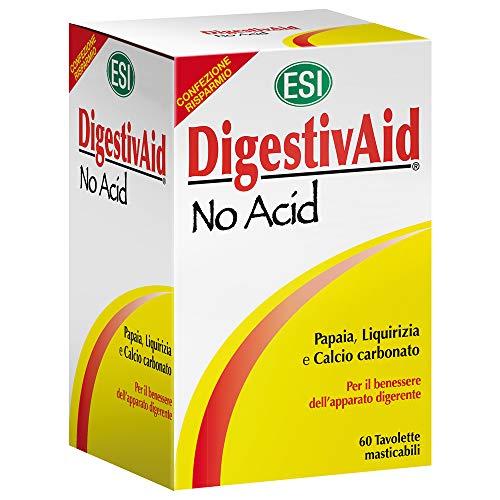 ESI Digestivaid No Acid - 60 Tavolette Masticabili
