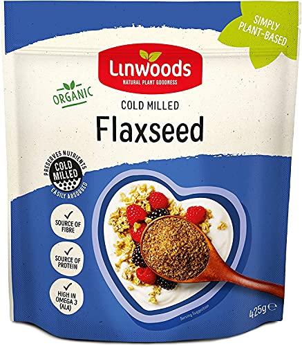 Linwoods Semi di lino macinati biologici (425g, Marrone)