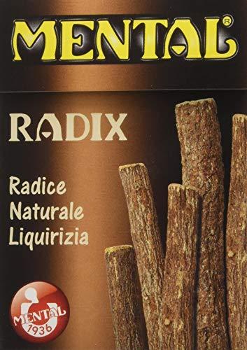 Mental Fassi Radici Naturali di Liquirizia - 16 astucci da 25 g