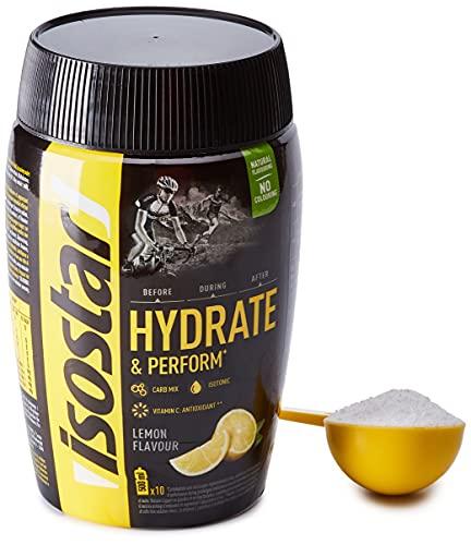 Isostad Hydrate & Perform, Preparato in polvere per bevanda Isotonica sport, Gusto Limone - 400 g
