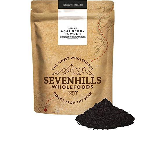 Sevenhills Wholefoods Polvere Di Bacca Di Acai Bio 250g
